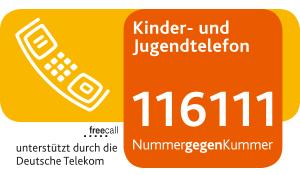 Kinder und Jugendtelefon - 116111 NummergegenKummer