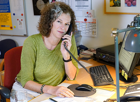 Beraterin oder Berater am Elterntelefon
