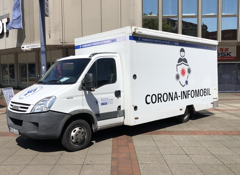 Corona-Infomobil